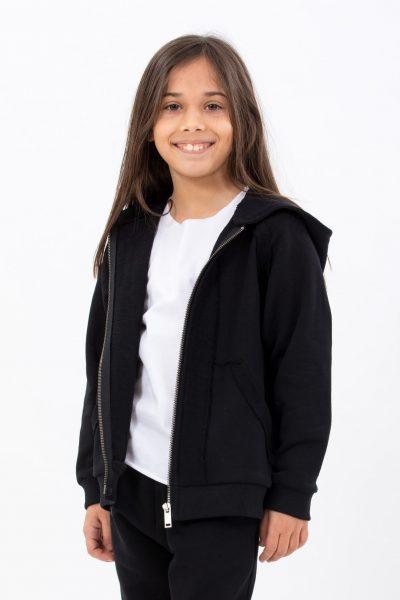 Hanorac Different Black hoodie